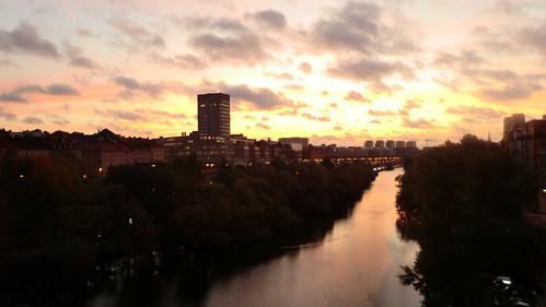 Utsikt från en bro