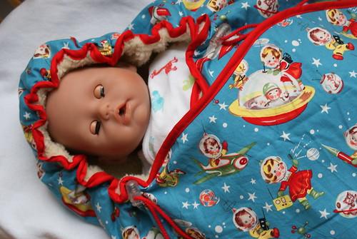 wikkeldekentje voor de nieuwe baby