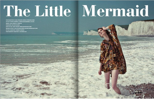 'Little Mermaid', New Style magazine, UK
