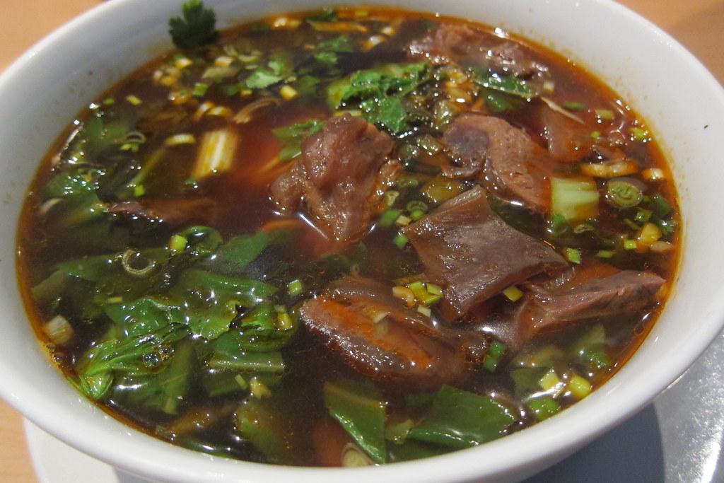 Dolphin Bay: Half-Beef, Half-Tendon Noodle Soup (#20)