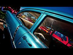 (john4kc) Tags: show chevrolet car metal vintage paint flake oldschool chevy 1956 custom 56 gladfest