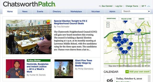 Chatsworth Patch Newsletter