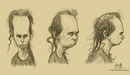 Schoolism Assignment 7 - sketches of Skot