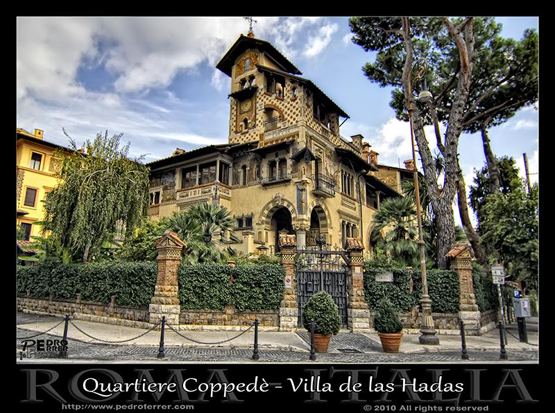 Roma - Quartiere Coppedè - Villa de las hadas