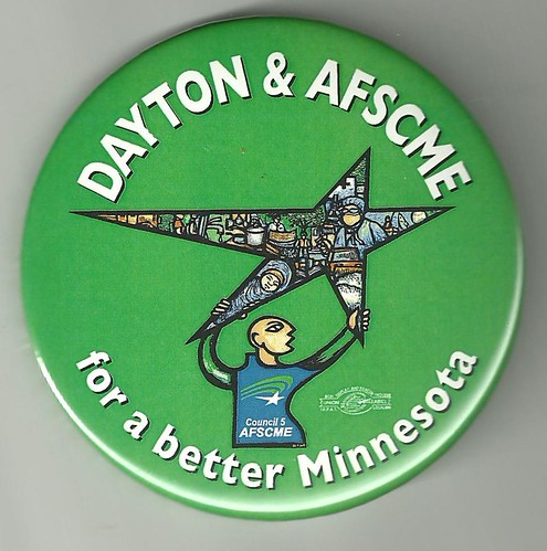 minnesota governor mark dayton. Mark Dayton Governor Minnesota MN AFSCME Campaign Button 2010