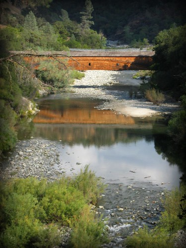 Bridgeport Covered Bridge Reflection