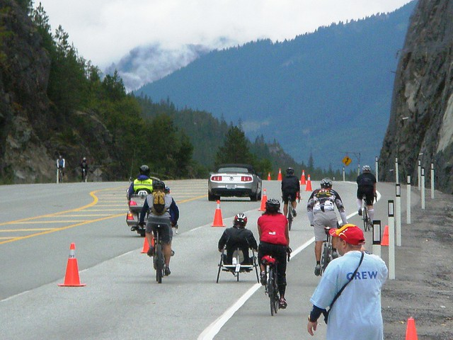 hand cycle to Whistler?!