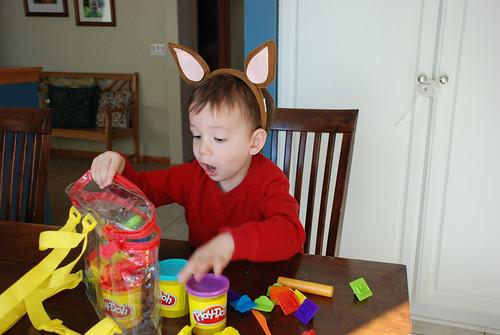 Playdoh + Kangaroo