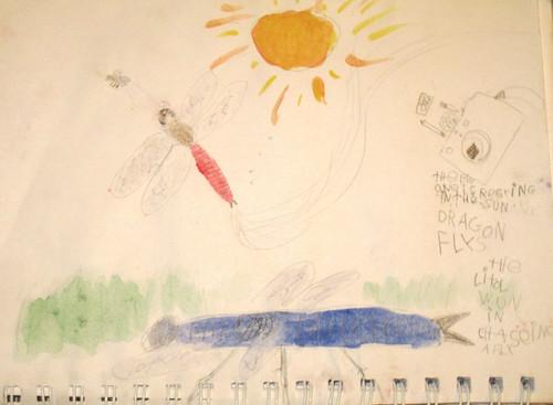 Dragonfly by JD Boy--age 7