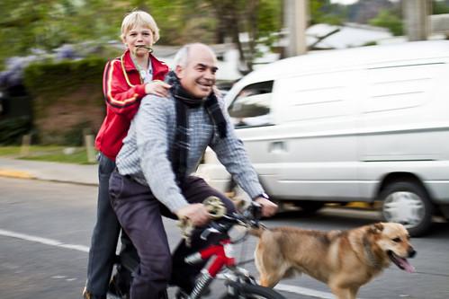 En bici se pasa bien ¿Alguna duda?