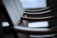 Chair arms (Mauro | PhotoForFood) Tags: airport nikon bokeh aeroporto wait boke d60 chairarm braccioli nikkor55200vr nikkor5502000mmf4056vr