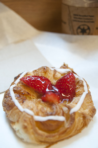 Strawberry Pastry, Andersen Bakery, San Francisco