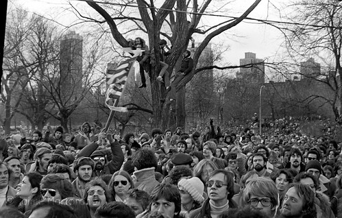 Vigil to John Lennon, Central Park, 12/14/1980