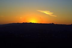Helicopter (strotter13) Tags: california sunset sunrise landscape la helicopter flickraward flickraward5 flickrawardgallery