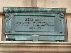 Photo of Connop Thirlwall bronze plaque
