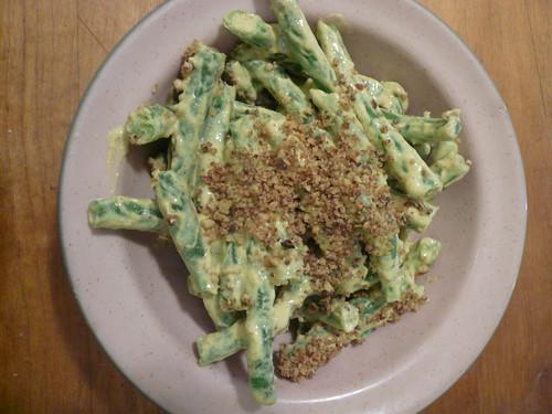 Mustardy Green Beans