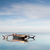 Tranquility (MaggyMorrissey) Tags: lake france landscape dawn boat jetty soustonslake