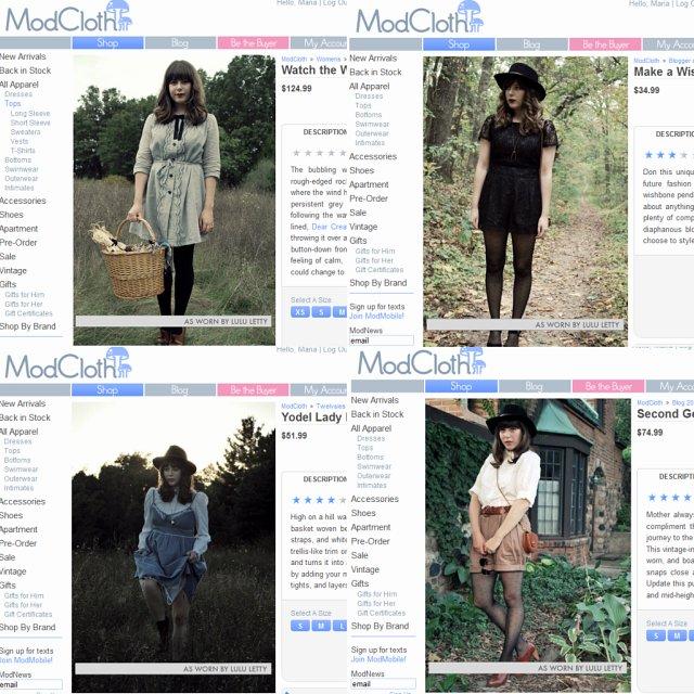 ModCloth site