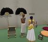 Meritaten speaks to the chief scribe in virutal Amarna (Akhetaten) (mharrsch) Tags: ancient egypt 18thdynasty nefertiti akhenaten scribe virtualworld meritaten amarna virtualenvironment mharrsch akhetaten heritagekey