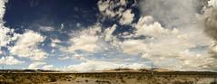 (rappensuncle) Tags: road sky storm southwest west horizontal composite desert jean nevada panoramic passing cloudscape rappensuncle multibleimage