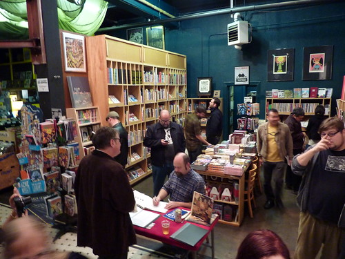 Dave Cooper & Johnny Ryan at Fantagraphics Bookstore & Gallery, Oct. 9, 2010