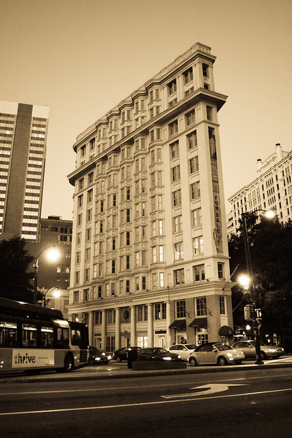 Old Building In Atlanta