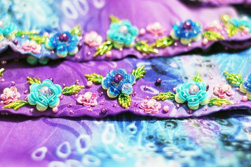 IZ004 - BLUE FLOWER