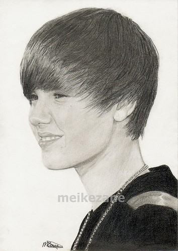 justin bieber drawing pictures. Justin Bieber Drawing