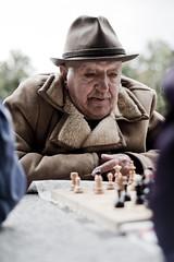crimemaster (movski) Tags: hat 50mm chess af szczecin 18d plac grunwaldzki palyer d700