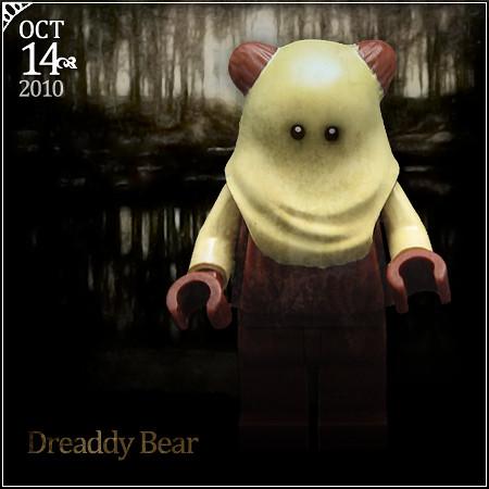 October 14 - Dreaddy Bear