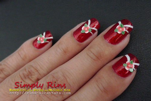 Nail Art Flower Tips 04
