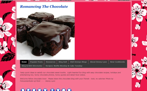Romancing The Chocolate