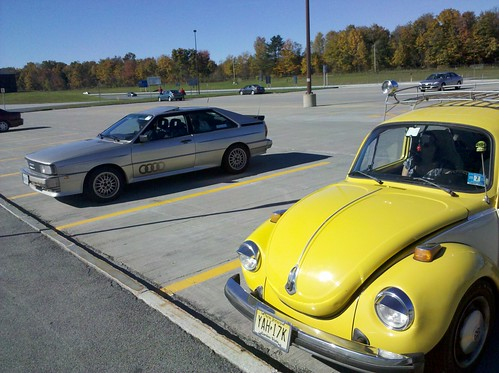 beetle and audi