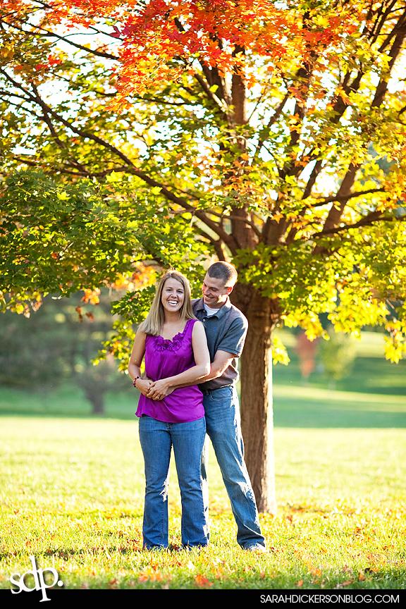 engagement session, Loose Park, Kansas City Missouri