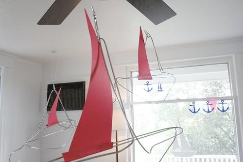 Finn's wire boats...