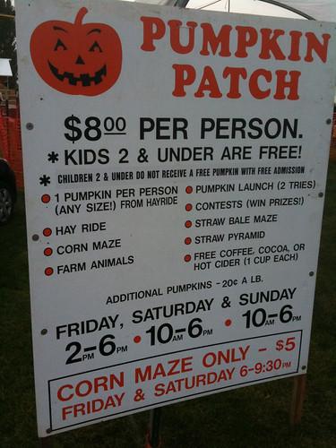 Bi-Zi Farms Pumpkin Patch
