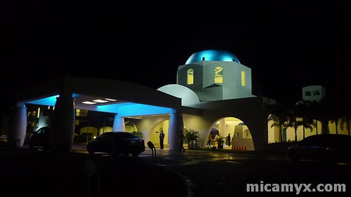 Night Shot of Thunderbird Resorts Poro Point