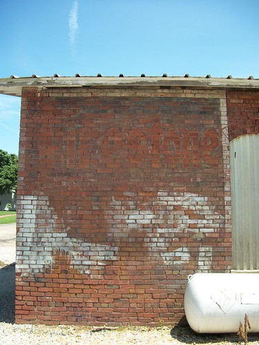 firestone tires ghost sign