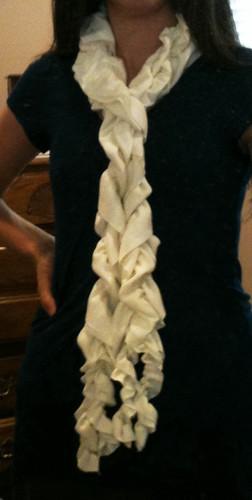 Bunchy scarf