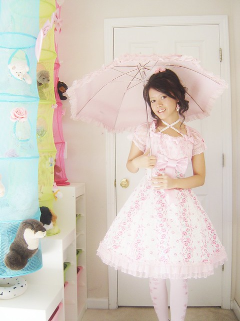 Hime Sweet Lolita Angelic Pretty Lady Rose whipcreambunn