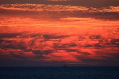 Sunset (chausinho) Tags: sunset sky sun sol clouds atardecer galicia cielo nubes puestadesol ocaso ria atlantico solpor oson portodoson serans puertodelson postadosol