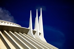 Spires of Space (Don Sullivan) Tags: waltdisneyworld tomorrowland magickingdom spacemountain canonef70200f28lisusm disneyphoto canoneos5dmarkii disneyphotography disneyimages