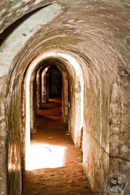 Tunnels In Castillo de San Felipe de Barajas
