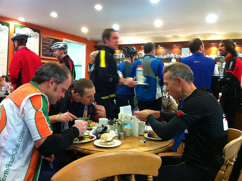 Gosforth RC post hill climb lunch