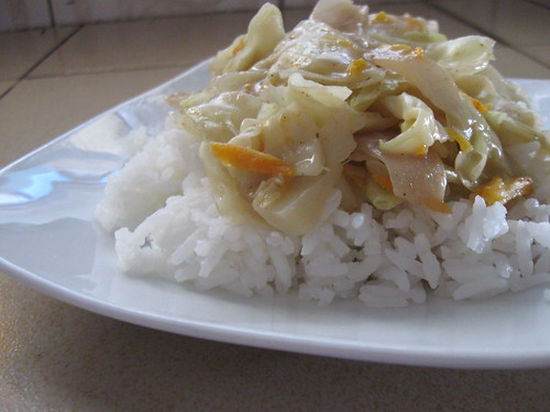Kenyan Curried Cabbage