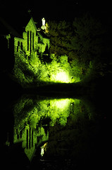 ChapellepahC (Paul Xland) Tags: reflection church night nikon chapel d300