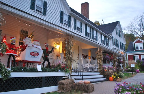Main Building @ Christmas Farm Inn