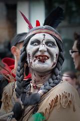 Indian Zombie (MaO de Paris) Tags: paris canon bp dfil zombiewalk 50d baladesparisiennes