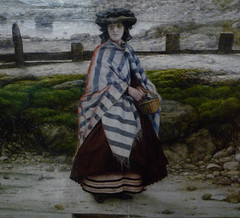 Pegwell Bay, Kent - a Recollection of October 5th 1858, detail of standing woman