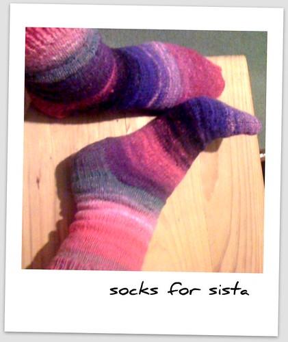 Socks for sista